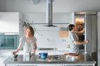 Chelsea and Arthur Jackson renovated their fourth-floor condominium to include a custom Bulthaup kitchen.