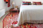 pattern rug interior