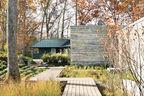 turkey saddle residence sea oat wood ipe deck