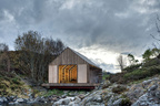 Tiny Norwegian boathouse