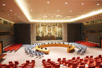 United Nations Security Council Chamber by Arnstein Arneberg