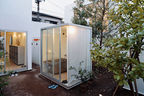 moriyama house outdoor shower room