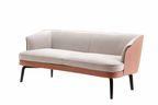 Modern saddle leather furniture like the Nivola sofa by Poltrona Frau
