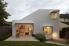 riverview house brick angular exterior