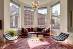 Bienstock/Sayer Family Apartment Living Area