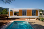 Spanish prefab with pool.