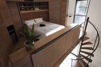 grain silo lofted bedroom rec
