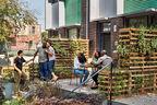 passive assertive affordable energy efficient philadelphia belfield avenue townhomes multifamily facade