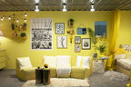 yellow design yp booth dodla 2015 design justina blakeney