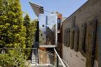 sf zero cottage exterior above workshop
