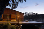 Modern winery in Central California