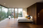 Behnisch Architekten renovation bedroom.