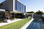 Brighton House exterior pool