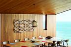 modern fairhaven beach house blackbutt eucalyptus dining room table