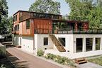 up to eleven pennsylvania shipping container steel prefab facade concrete foundation