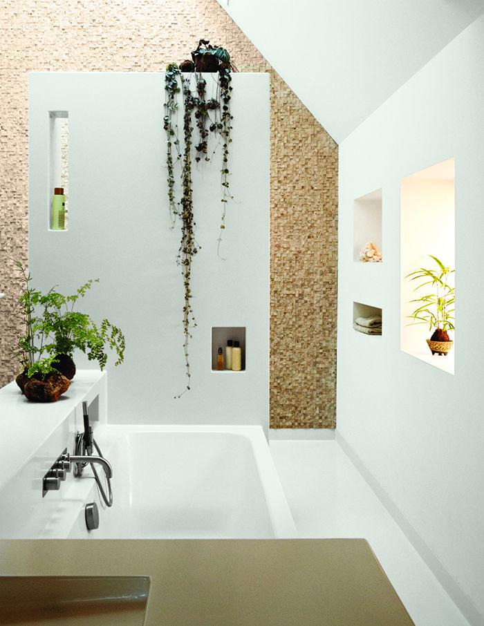 modern netherlands 13 noordeinde schoolhouse bathroom skylight stone tiles