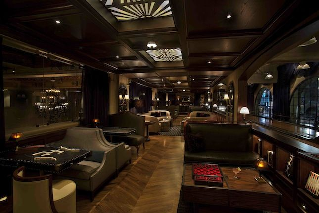 "<b><a href=""http://www.spareroomhollywood.com/"" target=""_blank"">THE SPARE ROOM</a> Lounge/nightclub designed by <a href=""http://www.ferstudio.com/"" target=""_blank"">FER Studio, LLP</a> & <a href=""http://www.studio-collective.com/"" target=""_blank"">Studio Co"