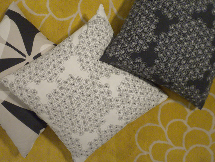 "<a href=""http://www.piaamsell.se/"">Pia Amsell</a> and <a href=""http://barbrowesslander.se/"">Barbro Wesslander</a> work together in Stockholm and have collaborated with Ikea for years, producing items such as these pillows. Their most recent work available"
