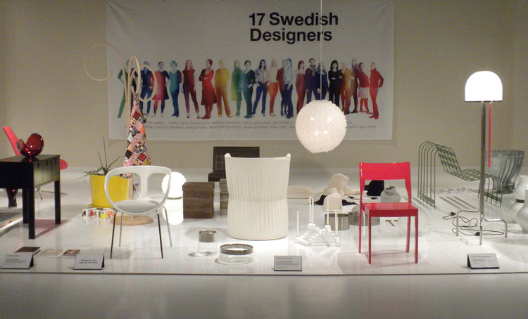 While attending the Las Vegas Market at the World Market Center, I was fortunate enough to be able to take in the exhibit. Though small in size, it was packed-full of the best of the best of Sweden's creative thinkers and presented viewers with the essenc