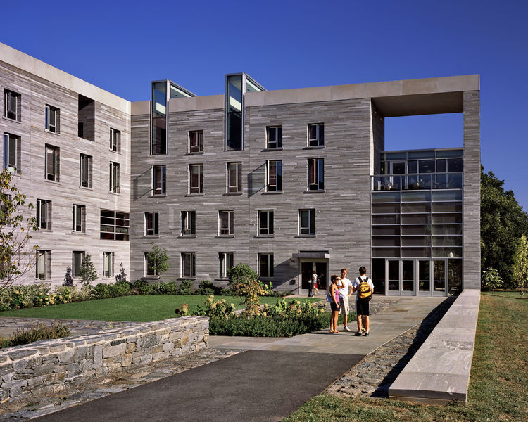 """The Swarthmore College Residence Halls in Swarthmore, Pennsylvania, designed by William Rawn Associates, Architects, was awarded the AIA 2010 Special Housing prize for """"outstanding design of housing that meets the unique needs of other specialized housing"""
