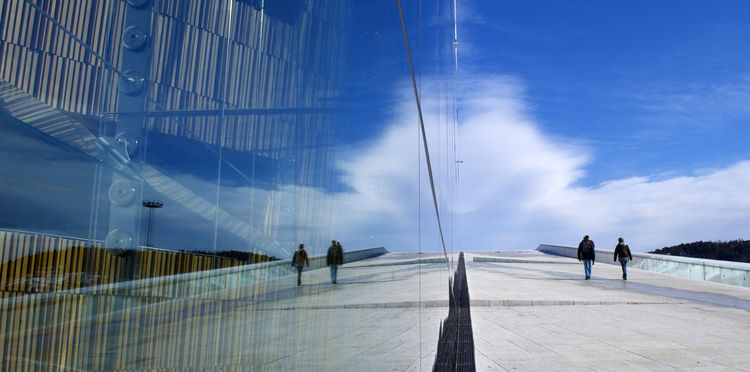 <i>Oslo Opera House Rorschach</i> shot by Adam Florence in Olso, Norway.