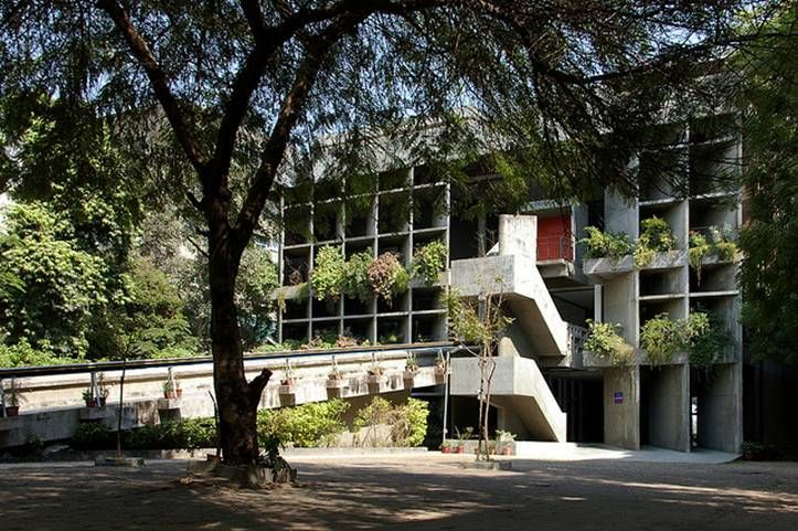 The Mill Owners' Association Building by Le Corbusier.
