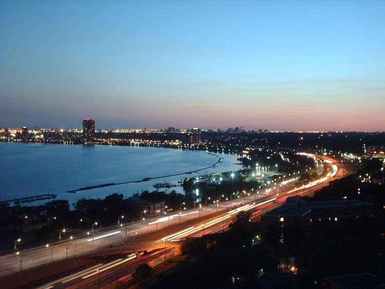 <i>Toronto Westend Humber Bay</i> shot by Derek Cameron in Toronto, Ontario.