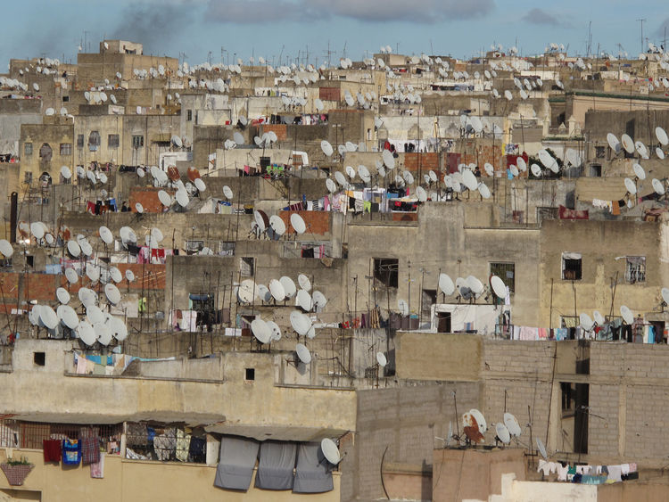 <i>Rooftops of Fez</i> shot by George Robert Horninig in Fez, Morocco.