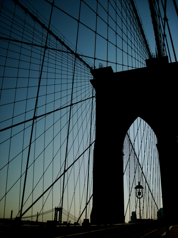 <i>Brooklyn Bridge</i> shot by Gary Swanson in New York, New York.