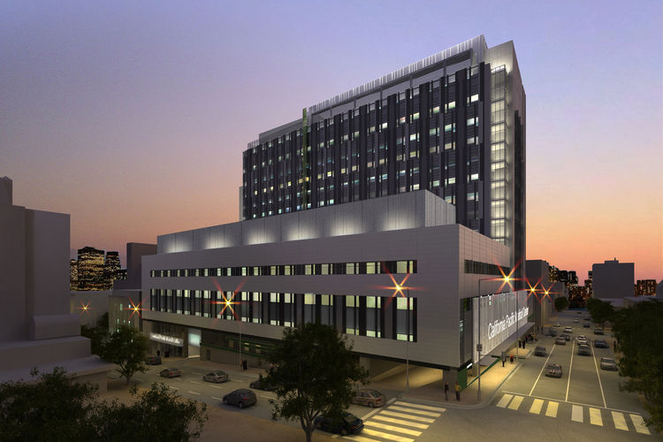 California Pacific Medial Center - Cathedral Hill Hospital by SmithGroup Honor Award for Integrated Project Delivery