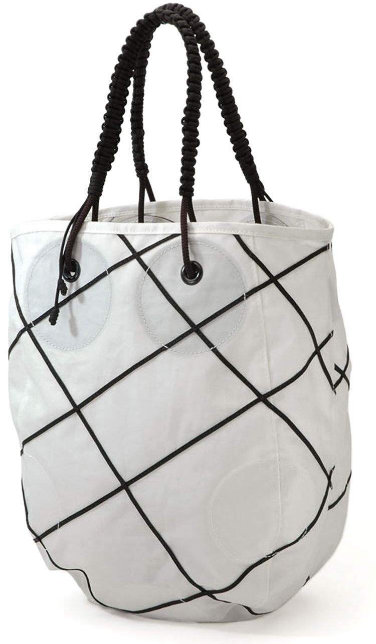 AUM tote by Stuart Sproule and Barnaby Killam for Red Flag Design