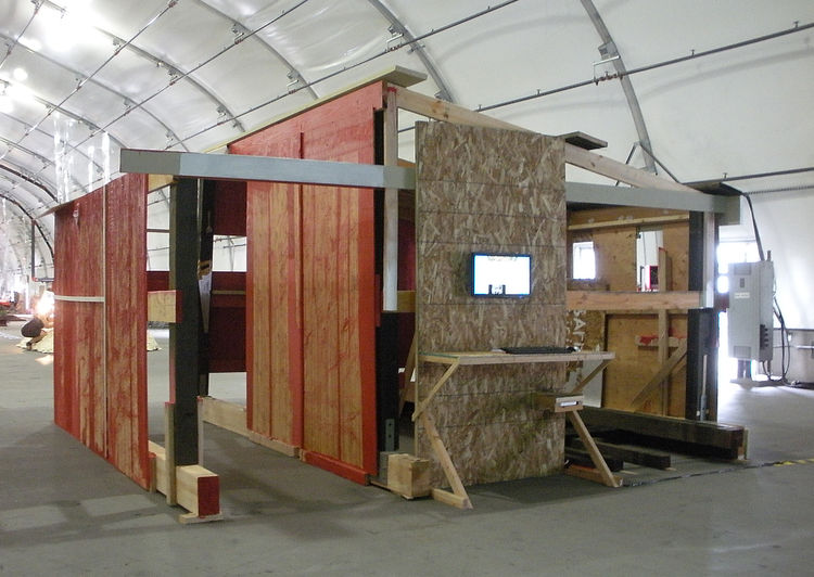"<i>All Raise This Barn, West</i>, a project by <a href=""http://mtaa.net/"">MTAA</a>, proposes how to build a community when a quintessential community-building event--barn raising--no longer occurs. Here, the artists polled people online to decide how the"