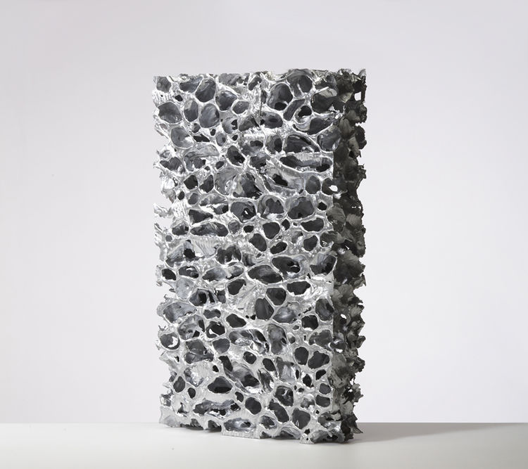 "<b><a href=""http://www.inventables.com/technologies/aluminum-foam"">5. Aluminum Foam.</a></b> Why Kaplan digs it: ""The most striking aspect of this material is the frozen, molten-bubble look on the top surface of the foam. It is particularly adept for inte"