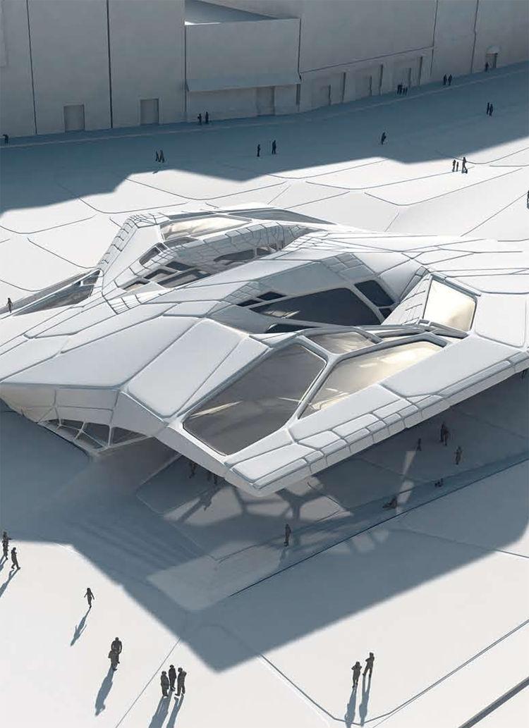 Novosibirsk Summer Pavilion (arts and culture venue) by Emergent Architecture