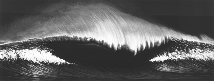 <i>Wave</i>, by Robert Longo