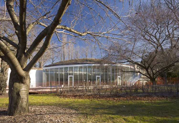 Brooklyn Botanic Gardens Visitor Center, Location: Brooklyn NY, Architect: Weiss Manfredi Architects