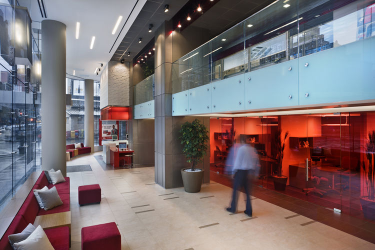 """A single award was given in the Shop category. The recipient was a familiar name of the evening: <a href=""""http://www.gensler.com/"""">Gensler</a>, for the Bank of America, 72nd & Broadway."""