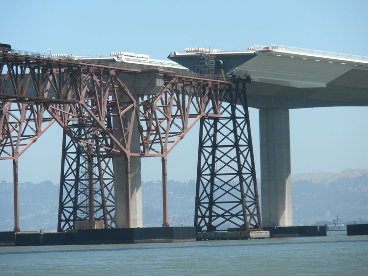 """Because of the costs, duration, and occasional disruptions to traffic of building the new bridge--as well as public interest in the project--the bridge authorities created <a href=""""http://baybridgeinfo.org/"""">baybridgeinfo.org</a> and <a href=""""http://baybr"""