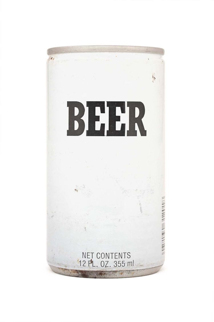 This can, produced in the 1980s by Falstaff Brewing Co. in Cranston, Rhode Island, gets straight to the point.