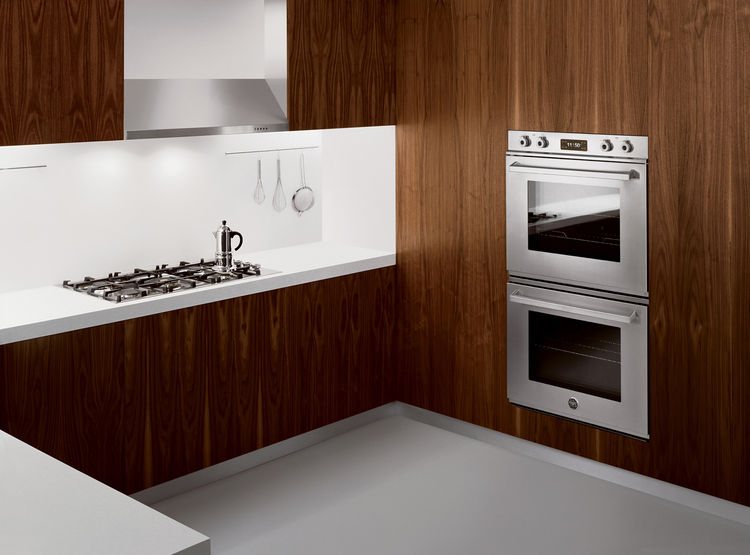 The new collection includes the Professional built-in ovens (shown here) as well as several new cooktops.