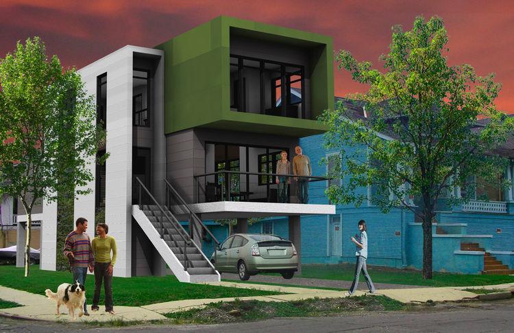 The Excursion (exterior) by Michael Benkert of University of Cincinnati, Winning Design