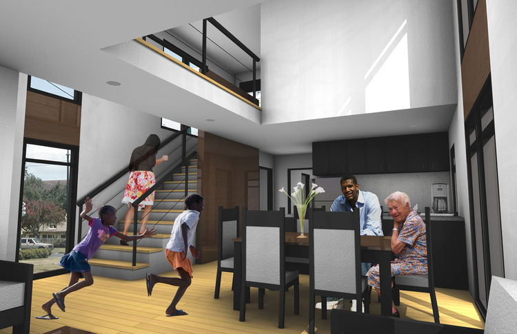 The Excursion (interior) by Michael Benkert of University of Cincinnati, Winning Design