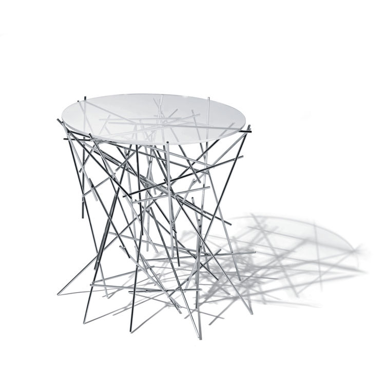 """<b>Blow Up Table</> by the Campana Brothers for <a href=""""http://www.alessi.com"""">Alessi</a>, $305"""