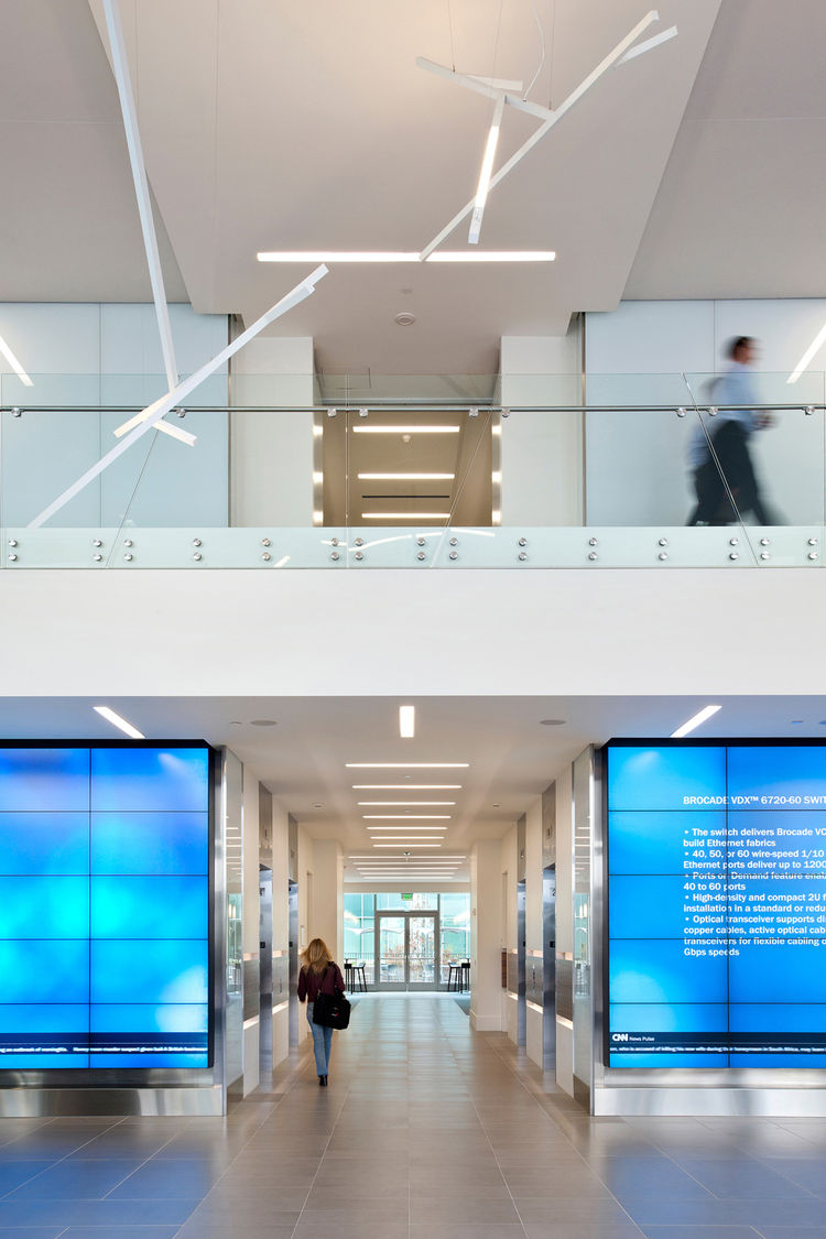 """A second Notable Work Big Award was awarded to <a href=""""http://www.rmw.com/enter.htm"""">RMW architecture & interiors</a> for their Brocade Communications Campus, which a juror noted is """"not the predictable corporate office."""""""