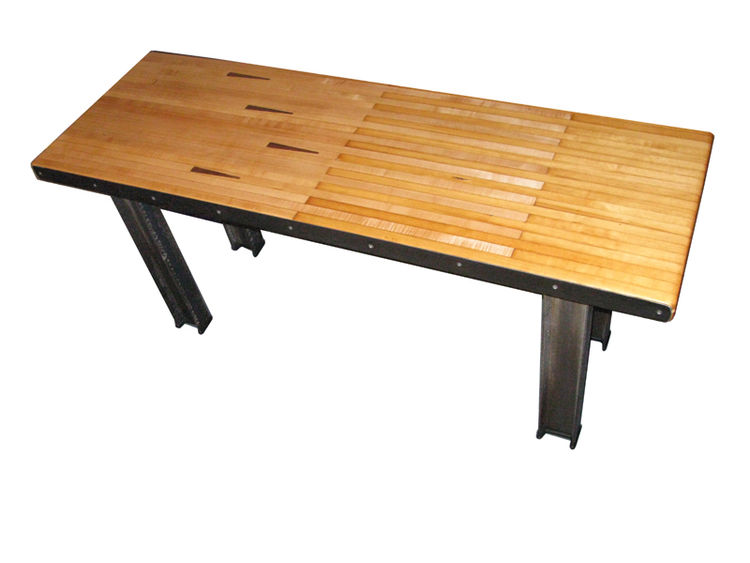 "Brooklyn table by <A HREF=""http://www.counterevolutionnyc.com"">CounterEvolution NYC</A>"