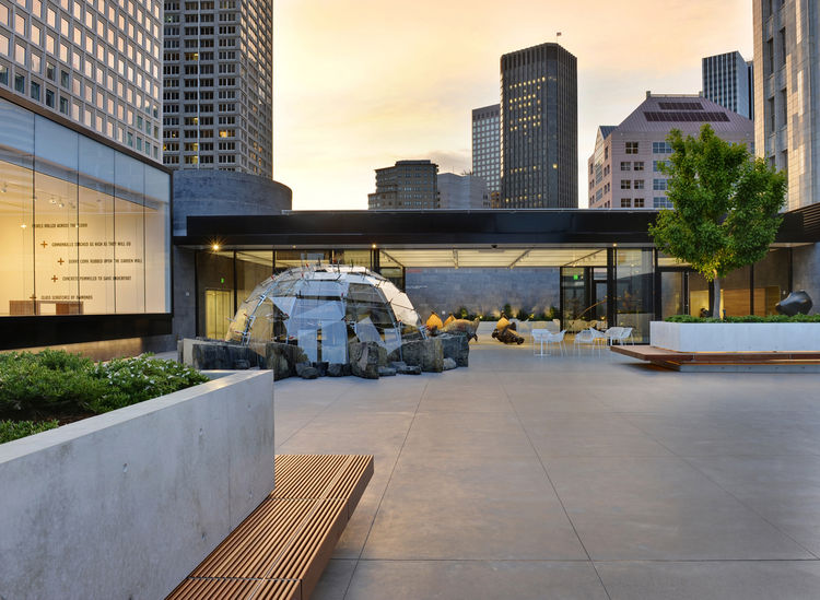 "One of CMG's most recent and most publicly beloved projects is the rooftop sculpture garden at the San Francisco Museum of Modern Art, which they designed together with <a href=""http://www.jensen-architects.com/"">Jensen Architects</a>. Their integrated pl"