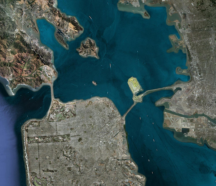 More recently, CMG has tackled a far more conceptual large-scale project: the re-envisioning of Treasure Island, a former military base at the center of San Francisco Bay. The firm's Treasure Island Redevelopment Master Plan transforms the windswept, bare