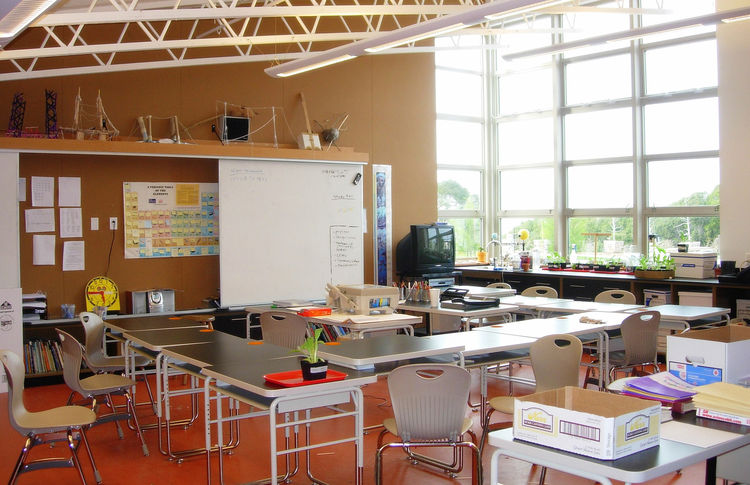 "Chartwell School (classroom) in Seaside, California, by <a href=""http://www.ehdd.com"">EHDD Architecture</a>. Photo courtesy Chartwell School."