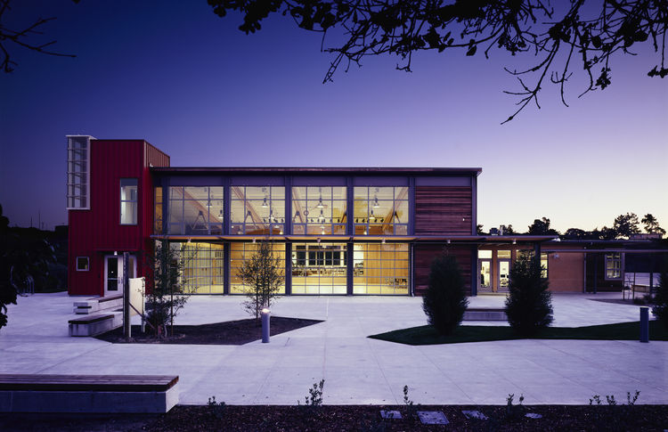"Chartwell School (exterior view) in Seaside, California, by <a href=""http://www.ehdd.com"">EHDD Architecture</a>. Photo by Michael David Rose."