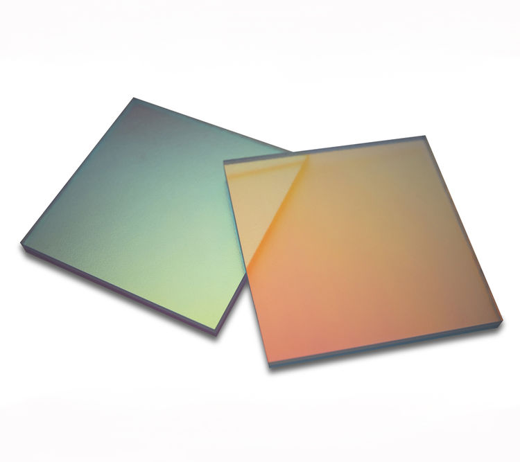 "<b><a href=""http://www.inventables.com/technologies/color-changing-translucent-panel"">11. Color-Changing Translucent Panel.</a></b> Why Kaplan digs it: ""The nice decorative effect on display here is that these panels reflect light differently depending on"